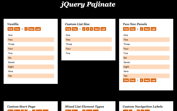 Pajinate – A jQuery Pagination Plugin | The Silver Lining