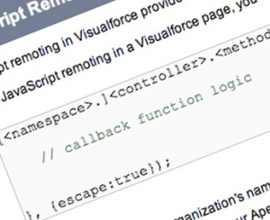 Salesforce: JavaScript Remoting – a different way of